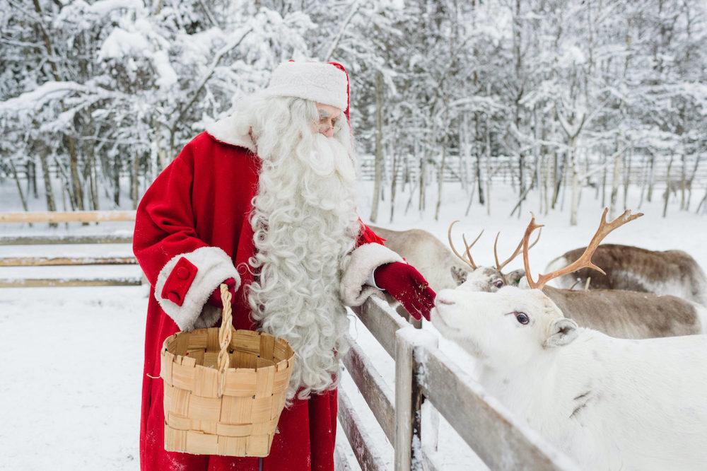 Winter Weihnachtsmann Juho Kuva : VisitFinland