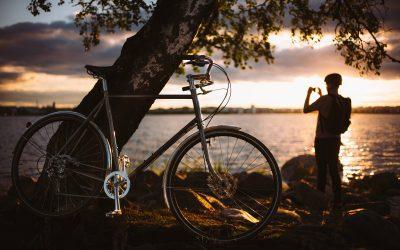Mit dem Fahrrad durch Helsinki