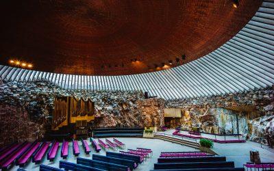 Helsinkis Felsenkirche — Temppeliaukion Kirkko