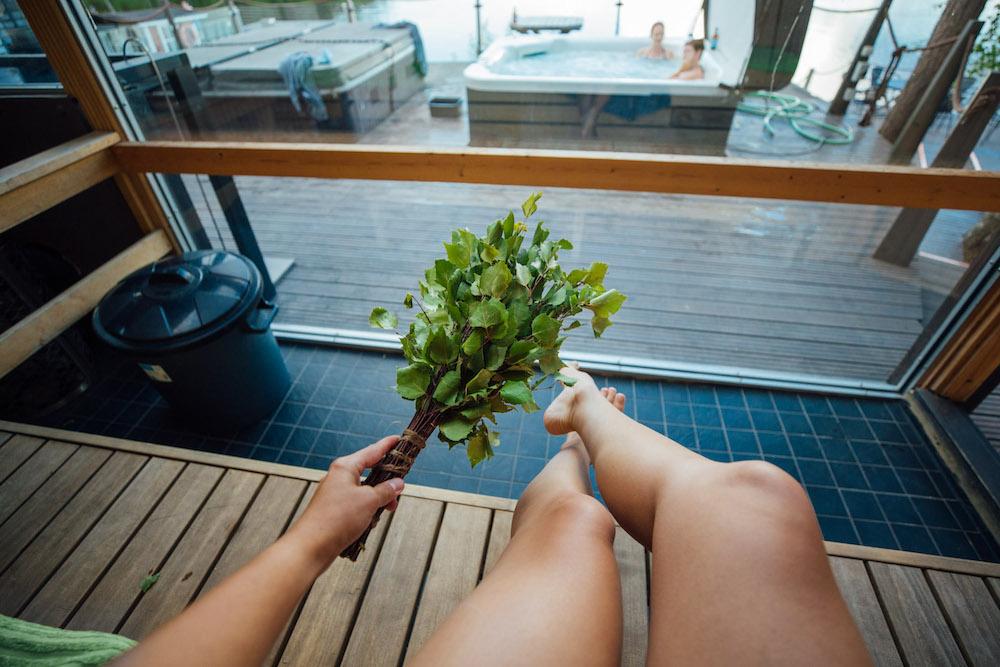 Lahti – Traditionelle finnische Saunabehandlung