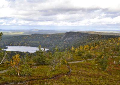 Das Dorf Iisakki in Ruka – Kuusamo