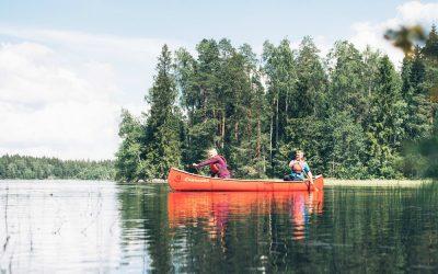 Multi-Aktivitäten-Urlaub im Nationalpark Liesjärvi – Lass Dich von der Natur bewegen