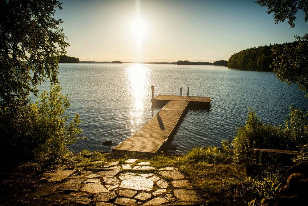 Petäys Lakeland Resort: Lass Dich von der Natur und der finnischen Sauna verwöhnen
