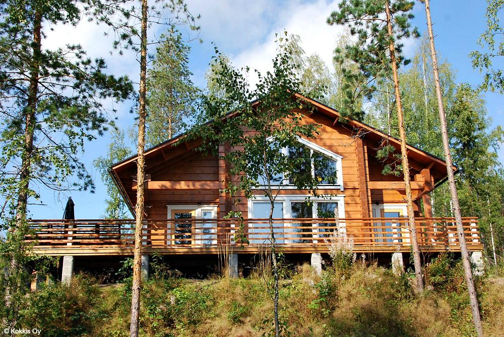 Ferienhäuser im Saimaa-Seengebiet