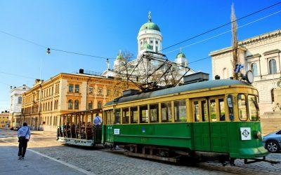 Mit der Helsinki Tram die Stadt erkunden