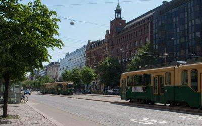 Öffentliche Verkehrsmittel in Helsinki