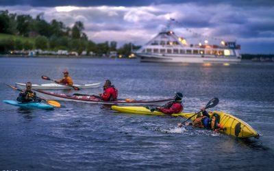 Sommeraktivitäten im Saimaa-Seengebiet