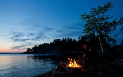Wandern im Saimaa-Seengebiet