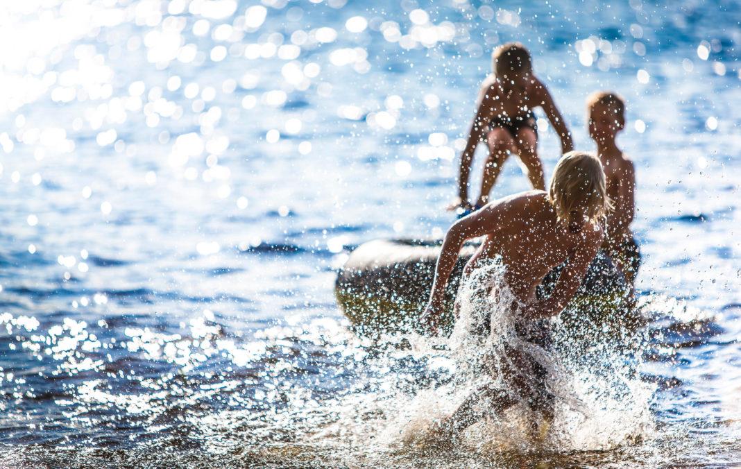 Finland Saimaa Schwimmen