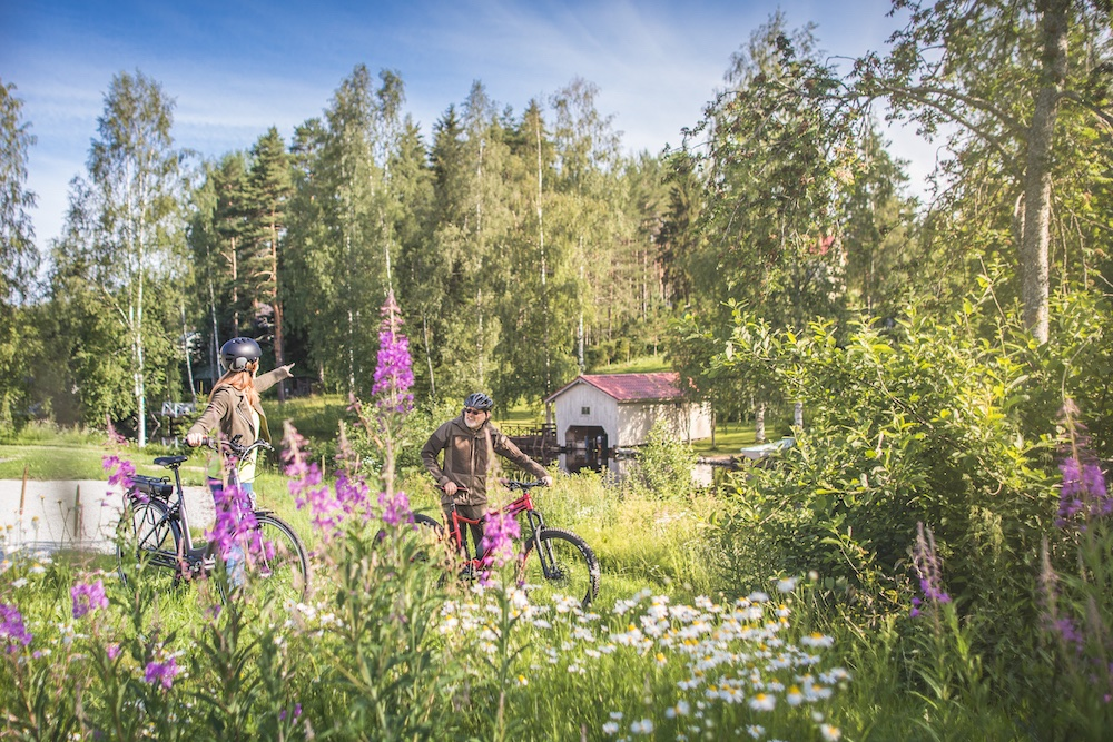 Fahrrad Visit Tampere Countryside Teisko Sommer Laura Vanzo