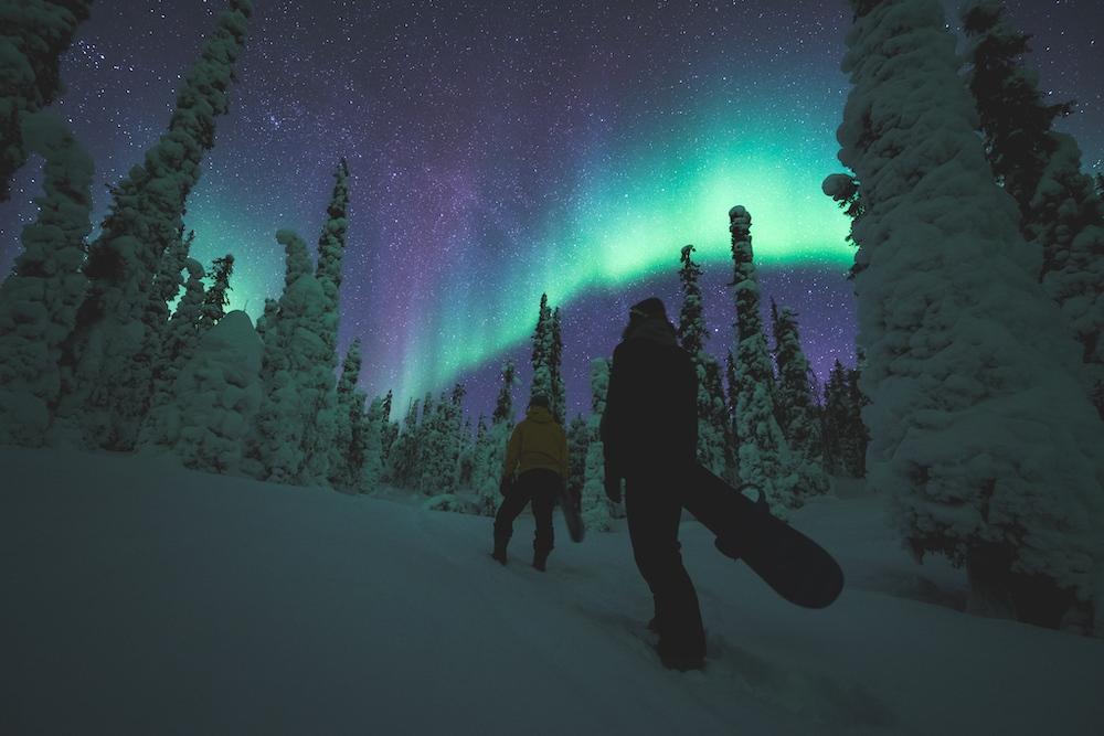 Nordlichter Finnland