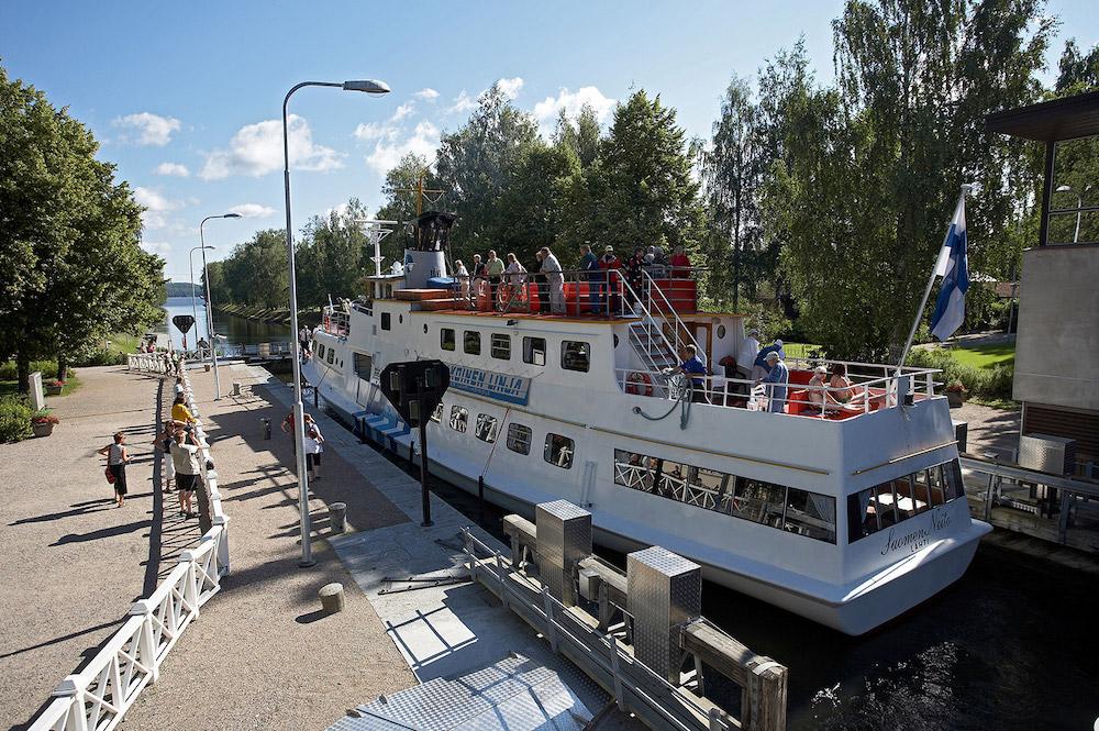 Entspannende Kreuzfahrt mit Lunch auf dem Vesijärvi-See und dem Vääksy-Kanal