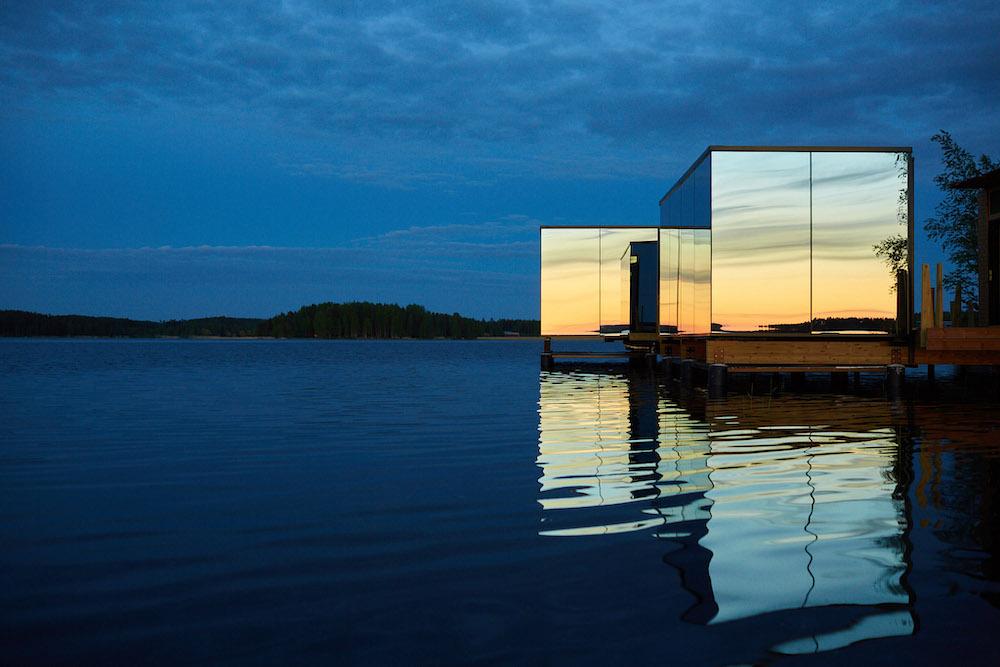 Lehmonkärki Lahti Mirror houses