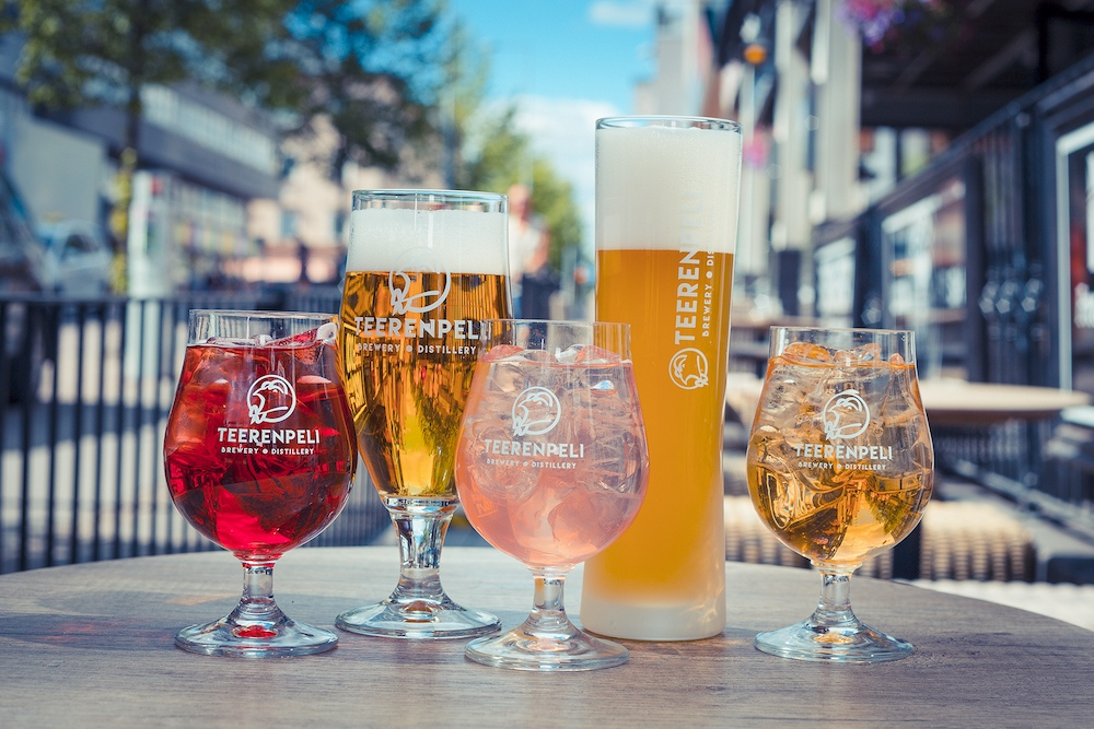 Brauerei und Destillerie Teerenpeli