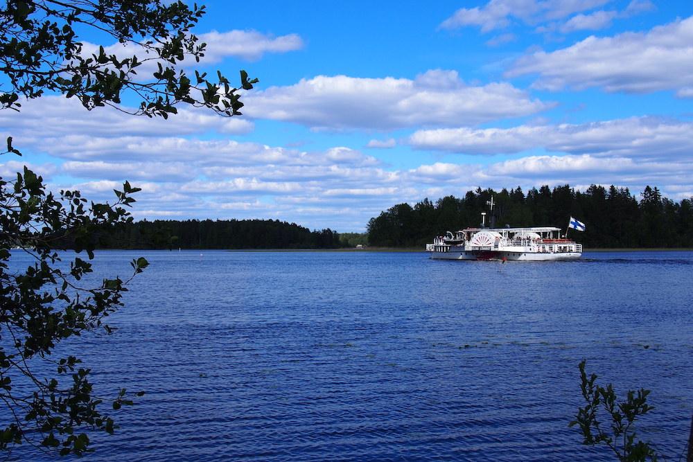 Heart of Finland Elias Lönnrot Boat
