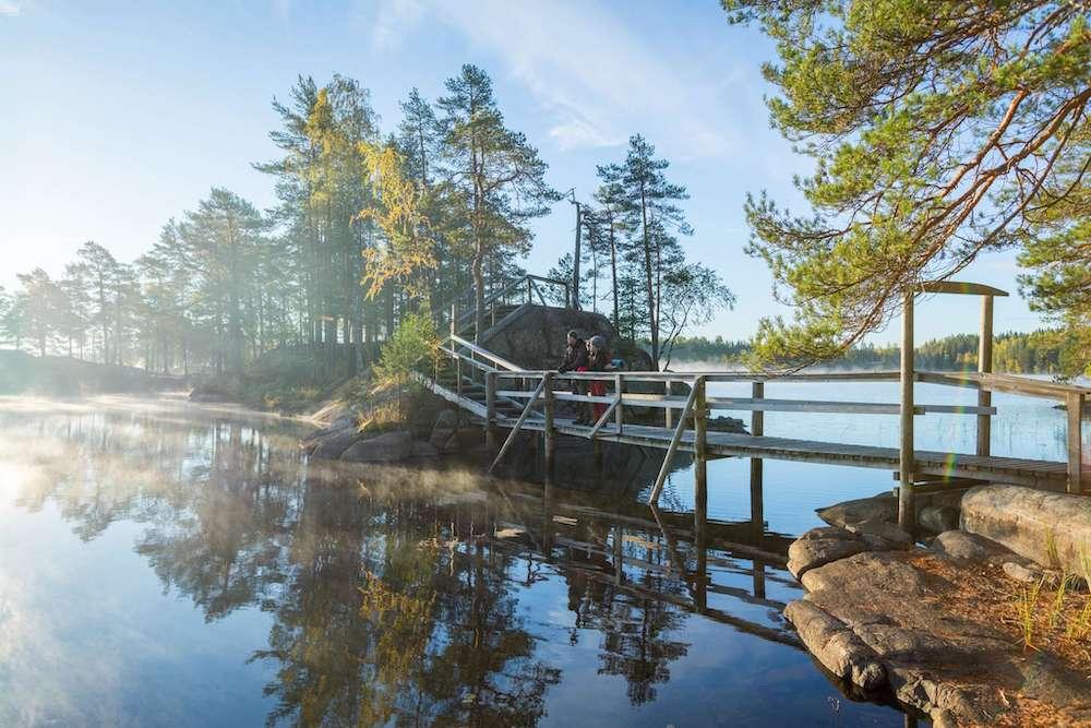 Heart of Finland Erholungsgebiet Pukala