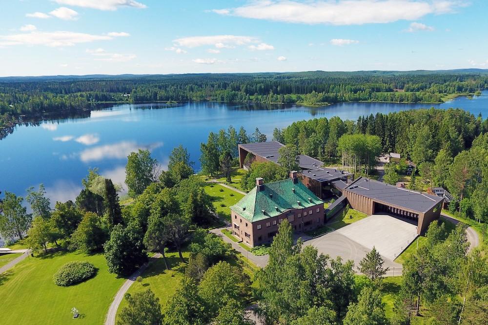 Heart of Finland Serlachius-Museen Luftaufnahme